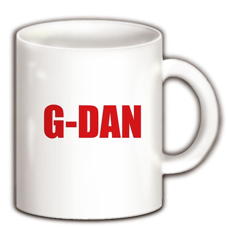 G-DANロゴ入りマグカップ